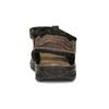 Hnědé pánské sandály z broušené kůže weinbrenner, hnědá, 866-4679 - 15