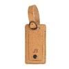 Kožená béžová jmenovka na kufr bata, hnědá, 944-3651 - 13