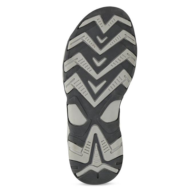 Chlapecké šedé sandály kožené weinbrenner, šedá, 463-2608 - 18
