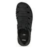 Pánské kožené černé sandály bata, černá, 866-6852 - 17