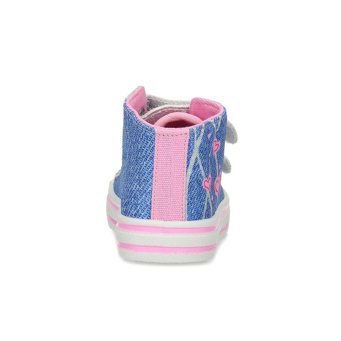Dívčí tenisky textilní bubblegummers, modrá, 129-9603 - 15