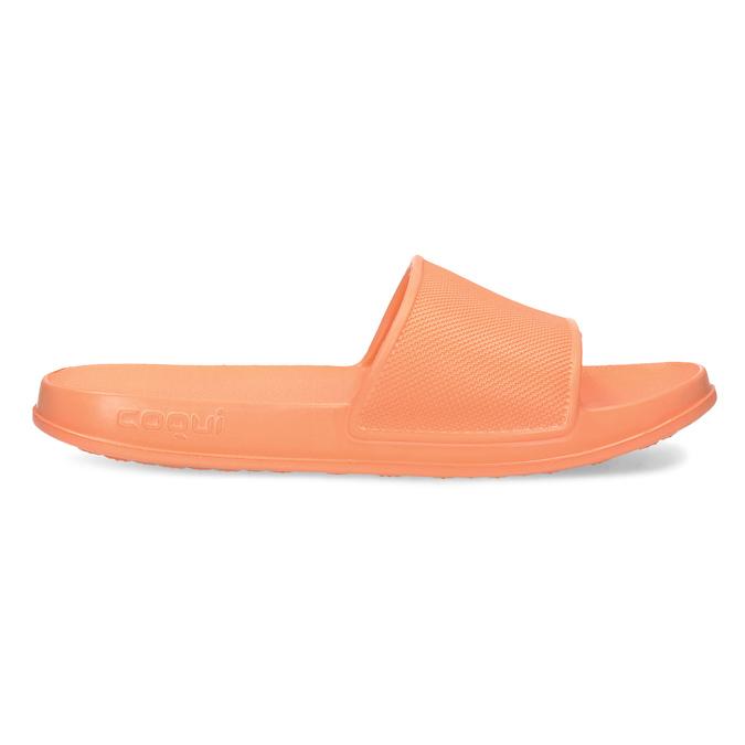 Dámské nazouváky oranžové coqui, oranžová, 572-8669 - 19
