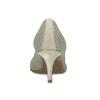 Dámské lodičky v pleteném designu bata-b-flex, šedá, 729-2641 - 15