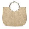 Béžová dámská pletená kabelka bata-red-label, béžová, 961-8970 - 26