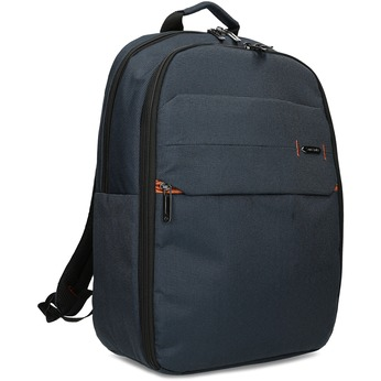 Modrý cestovní batoh s oranžovými detaily samsonite, modrá, 960-9056 - 13