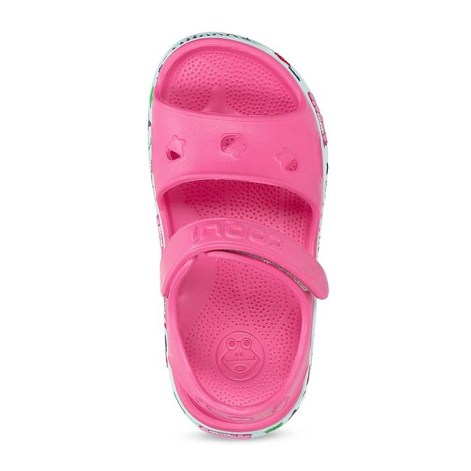 Růžové dětské sandály coqui, růžová, 172-5600 - 17