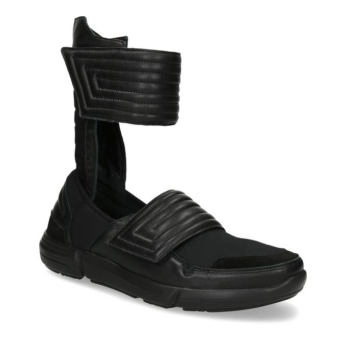 Vysoké pánské tenisky se suchými zipy bata, černá, 844-6745 - 13