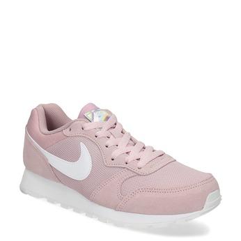 Růžové dámské tenisky v městském stylu nike, růžová, 509-5105 - 13