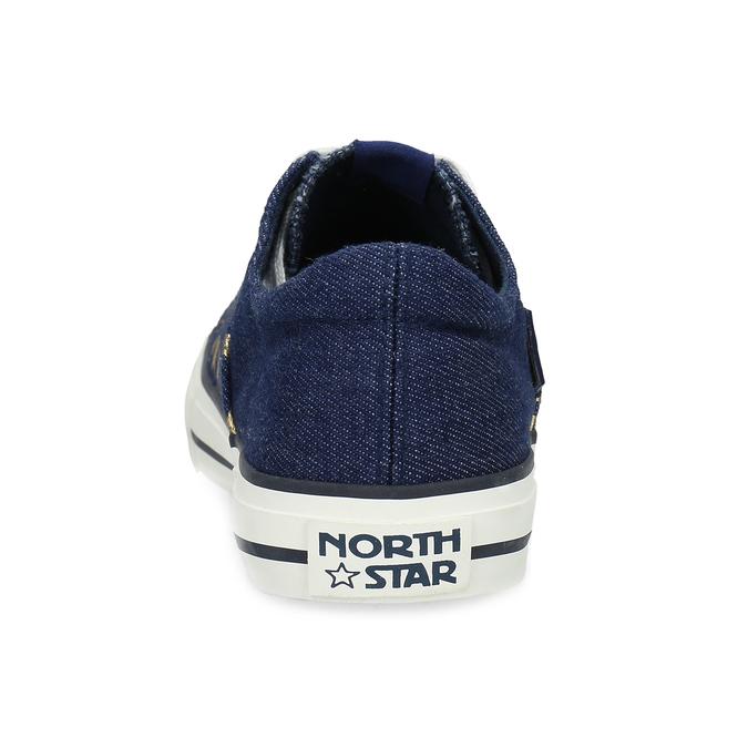 Dámské tenisky denim north-star, modrá, 549-9616 - 15
