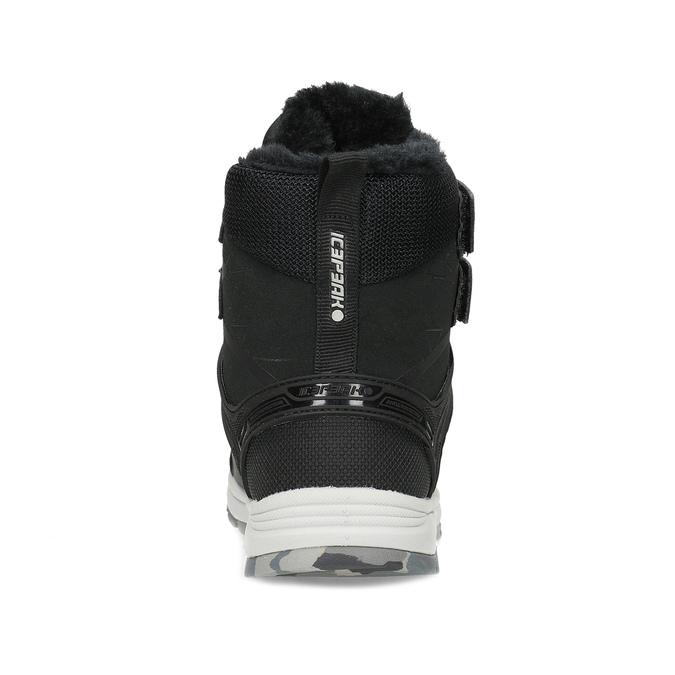 Dětská černá zimní obuv se zateplením icepeak, černá, 399-6006 - 15