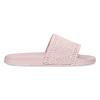 Růžové dámské nazouváky s perforací pata-pata, růžová, 579-5689 - 19