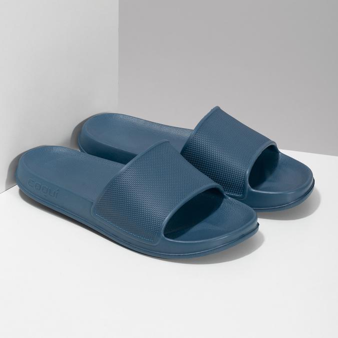 Dětské modré nazouváky coqui, modrá, 472-9611 - 26