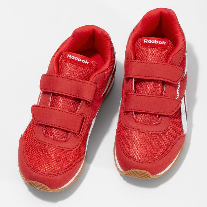 Červené dětské tenisky reebok, červená, 309-5176 - 16