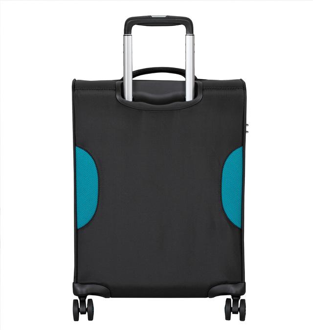 Cestovní textilní černý kufr roncato, černá, 969-6727 - 26