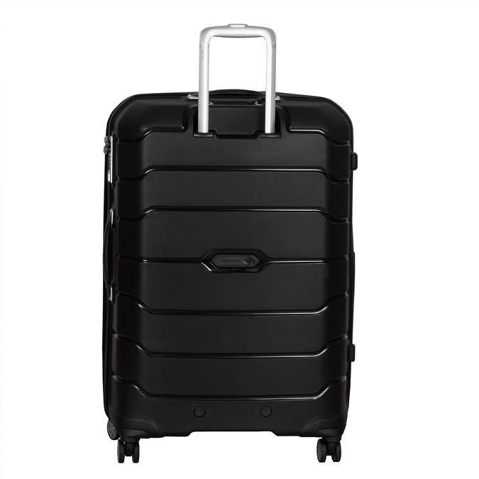Černý cestovní kufr na kolečkách samsonite, černá, 960-6623 - 26