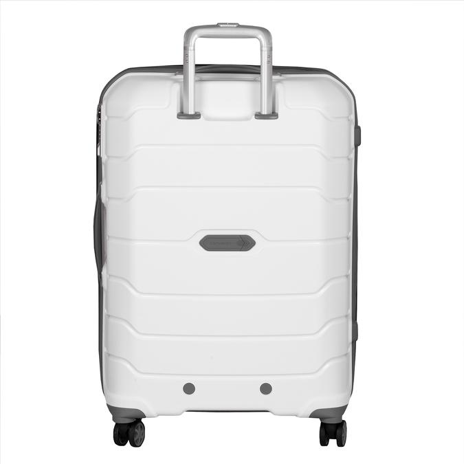 Cestovní bílý kufr na kolečkách samsonite, bílá, 960-1622 - 26