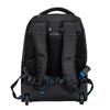 Černý cestovní batoh s modrými detaily roncato, černá, 969-6731 - 26