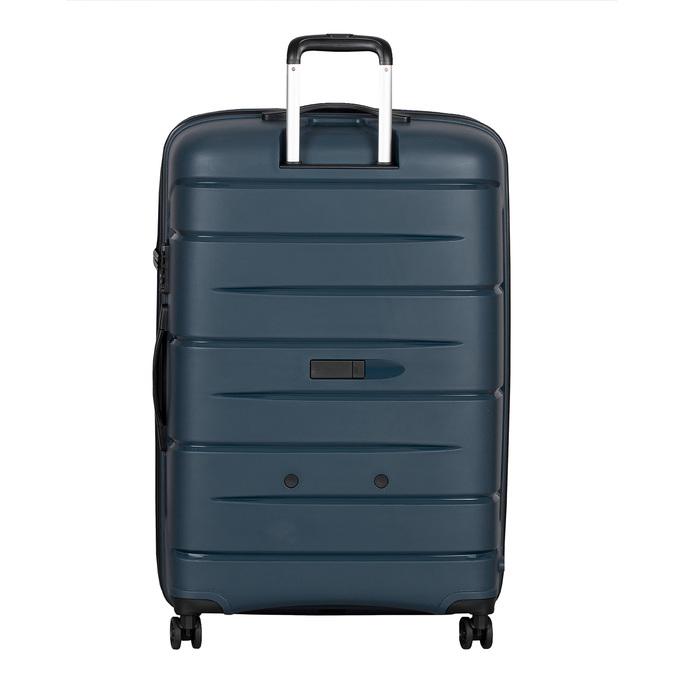 Cestovní modrý kufr na kolečkách roncato, modrá, 960-9618 - 26