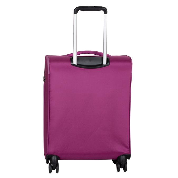 Fialový cestovní kufr na kolečkách american-tourister, růžová, 969-5627 - 26
