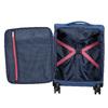 Modrý kufr na kolečkách s nápisy american-tourister, modrá, 969-9740 - 17