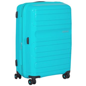 Velký tyrkysový kufr na kolečkách american-tourister, modrá, 960-9625 - 13