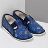 Dětské modré přezůvky se vzorem bata, modrá, 179-9631 - 26
