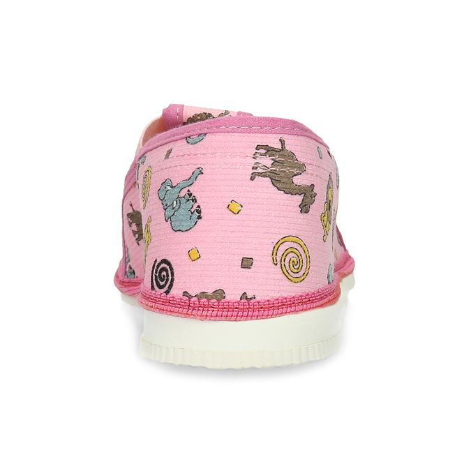 Dětské růžové přezůvky se vzorem bata, růžová, 379-5616 - 15