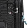 Textilní černý kufr na kolečkách roncato, černá, 969-6738 - 15