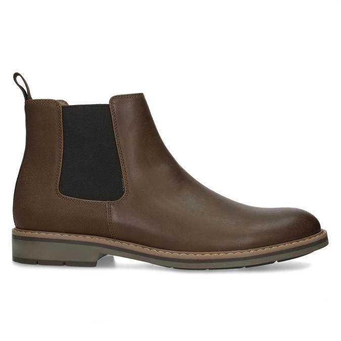 Kotníčková pánská Chelsea obuv bata-red-label, hnědá, 821-4669 - 19