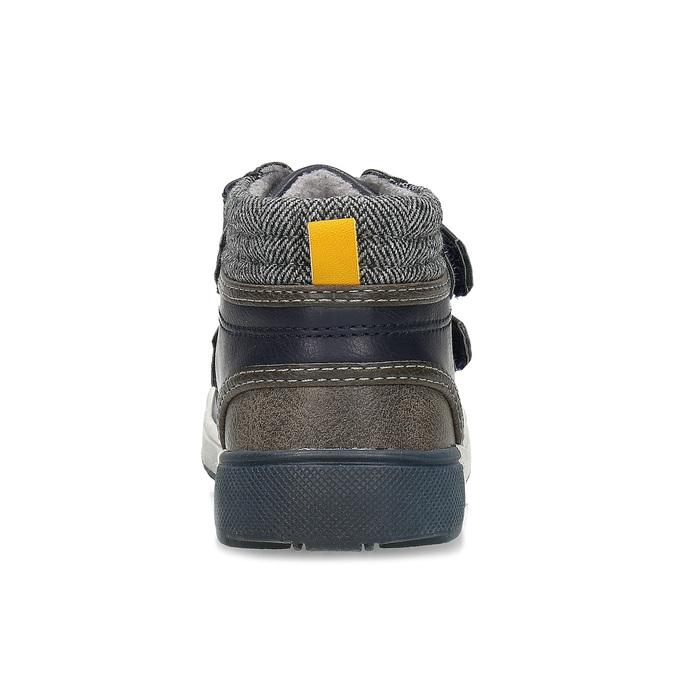 Modrá dětská kotníčková obuv bubblegummers, modrá, 111-9709 - 15