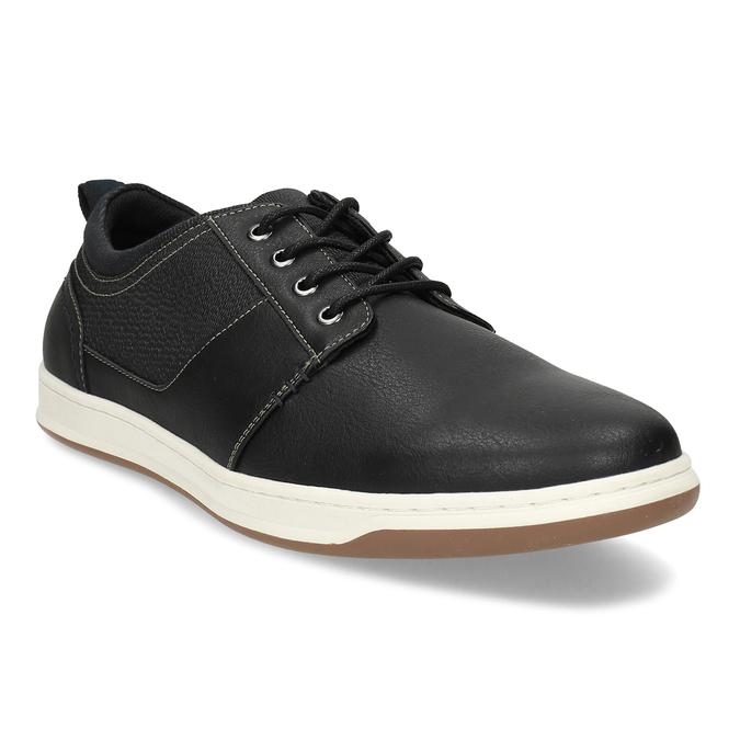 Černé pánské ležérní tenisky bata-red-label, modrá, 841-6779 - 13
