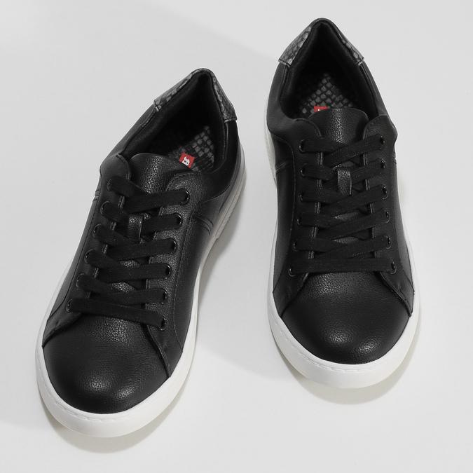 Černé dámské ležérní tenisky bata-red-label, černá, 541-6609 - 16