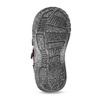 Fialová dětská kotníčková obuv na suché zipy bubblegummers, fialová, 121-9722 - 18
