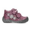 Fialová dětská kotníčková obuv na suché zipy bubblegummers, fialová, 121-9722 - 19