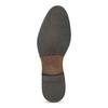 Dámské kožené černé Derby polobotky bata, černá, 524-6608 - 18