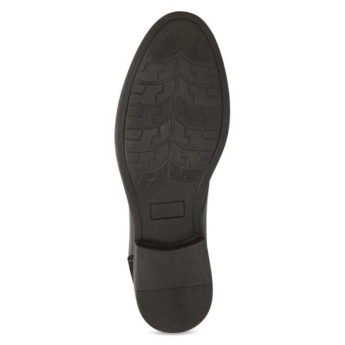 Modrá pánská kožená kotníčková obuv bata, modrá, 826-9937 - 18