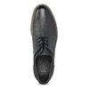 Pánské kožené ležérní polobotky bata, modrá, 826-9610 - 17