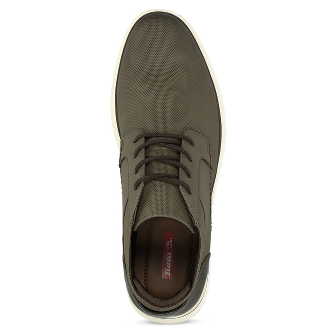 Kotníčkové pánské khaki tenisky bata-red-label, khaki, 821-7673 - 17