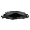 Černá Crossbody kabelka s prošitím bata, černá, 961-6992 - 15