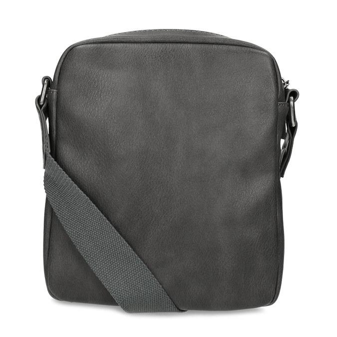 Šedá pánská taška přes rameno bata, šedá, 961-2714 - 16