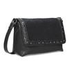 Černá Crossbody kabelka s kovovými cvoky bata, černá, 961-6711 - 13