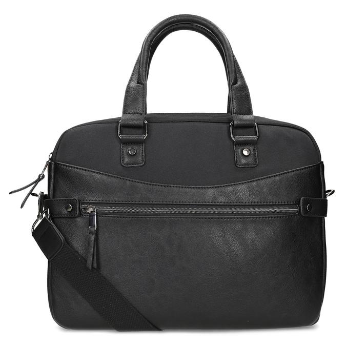 Pánská černá taška s popruhem bata, černá, 969-6792 - 16