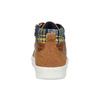 Hnědé dětské kotníčkové tenisky mini-b, hnědá, 411-3703 - 15