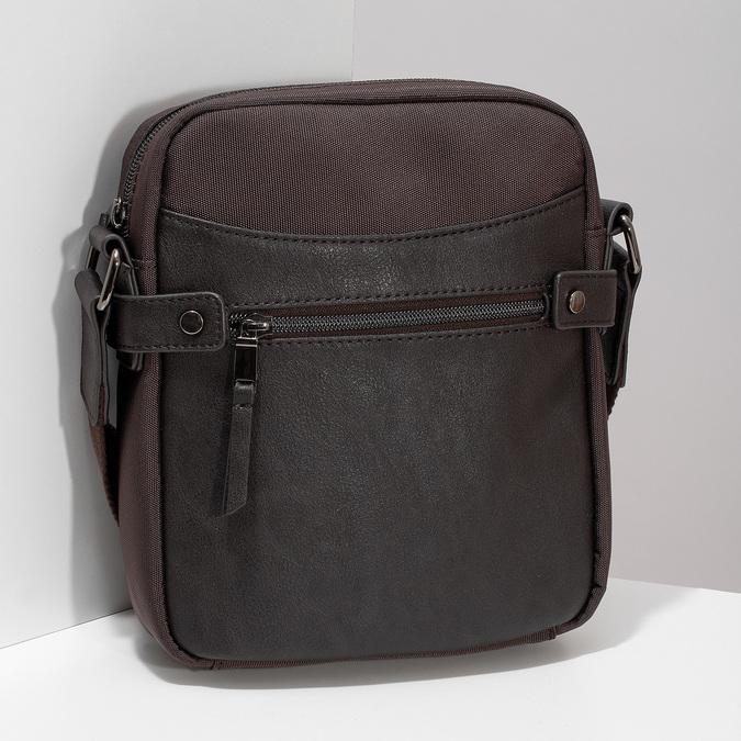 Hnědá pánská Crossbody taška bata, hnědá, 969-4793 - 17