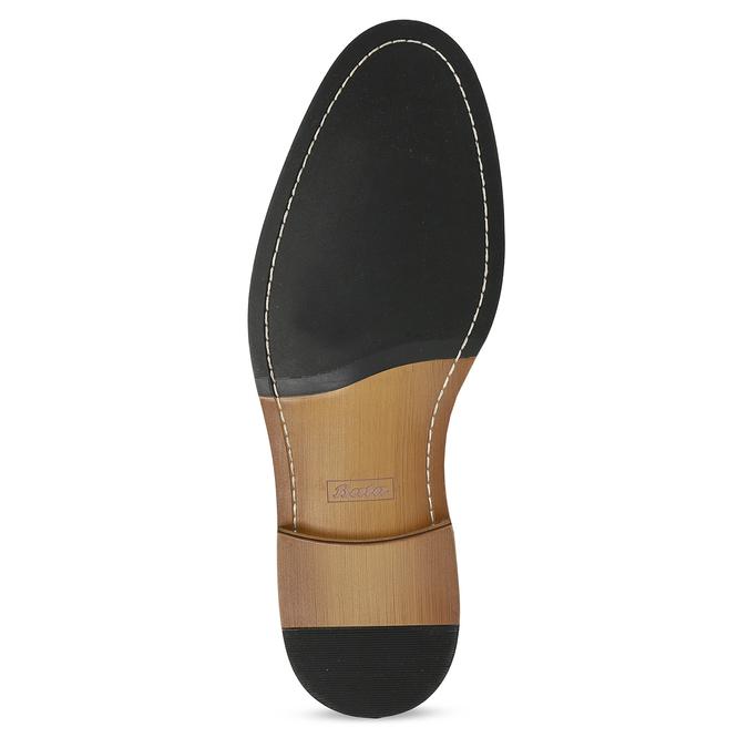 Pánská kožená kotníčková Chelsea obuv bata, černá, 814-6601 - 18