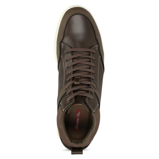 Hnědá pánská kotníčková obuv bata-red-label, hnědá, 841-4783 - 17