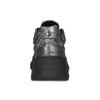 Stříbrné dámské tenisky v Chunky stylu bata-light, stříbrná, 641-4601 - 15