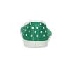 Zelené dětské přezůvky s puntíky bata, zelená, 379-7100 - 15
