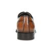 Pánské hnědé kožené Ombré polobotky bata, hnědá, 826-3864 - 15