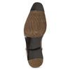 Pánské hnědé kožené Ombré polobotky bata, hnědá, 826-3864 - 18